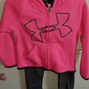 Yoga pant hoodie set